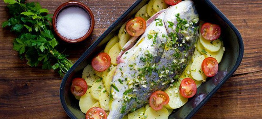 GRILLED SEA BREAM - Dorada al horno