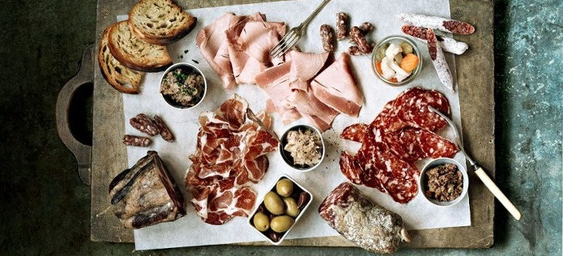 PLATTER OF SPANISH CURED MEATS - Tabla de Ibéricos